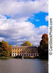 autumn at Kew Gardens - Autumn season at Kew Gardens, London
