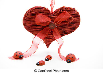 Red Heart for Special Decoration