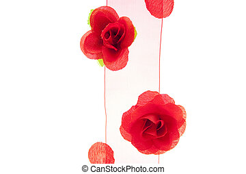 Decoration for special occasion with re flower