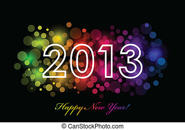 2013 colorful background