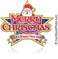 Merry Christmas and Santa
