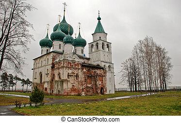 Rostov Velikiy -  monastery in Rostov Velikiy