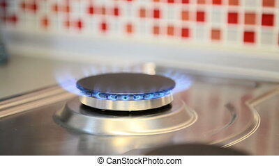 gas burner goes out