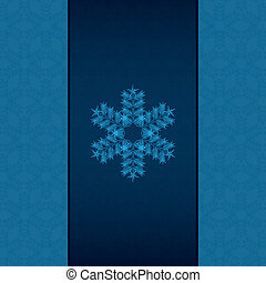 Abstract winter vintage background
