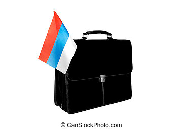 Portfolio Flag of Russia - Portfolio with a flag of Russia
