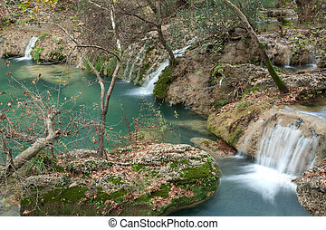 Kursunlu waterfall and cascade at Antalya Turkey