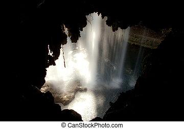 Duden waterfall and cascade at Antalya Turkey