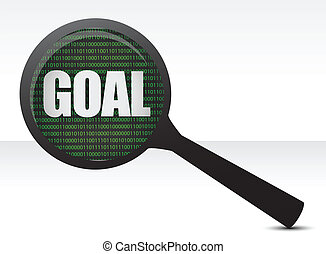 looking for the goal