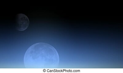 celestial body,moon.