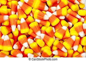 halloween candy corn - Bright colored candy corn for...