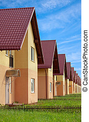 Townhouses with household lawns - Condo for sale arranged in...