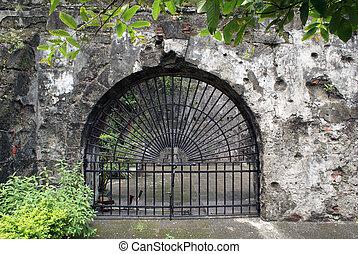 Fort Manila - Entrance of fort Manila