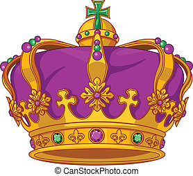 Mardi Gras crown - Beautiful Mardi Gras crown