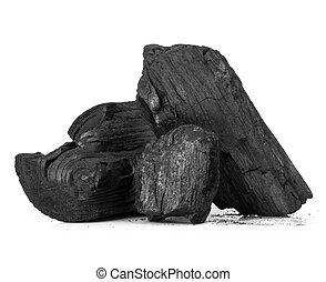 madera, carbón