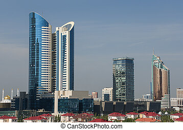 Astana Cityscape - Cityscape of Astana, the capital of...