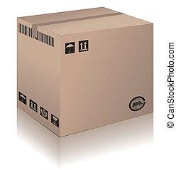 Cardboard Box - A Cardboard Box