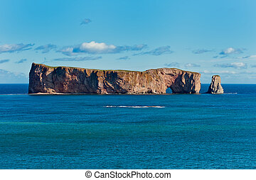 Perce Rock, famous place in Gaspe
