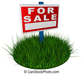 Road sign pointing to sale - road sign pointing to sales...