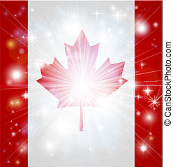 Canadian flag background