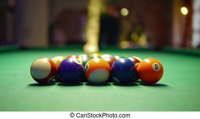 HD - Billiards First shot
