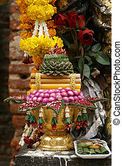 Buddhist shrine - Shrine in Phra Narai Rachanivej in...