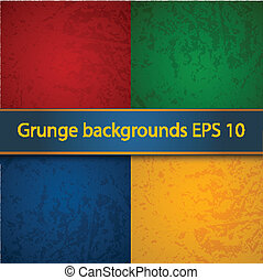 Grunge texture - Grang backgrounds EPS 10