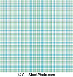 Seamless Soft Plaid - Seamless plaid in shades of turquoise,...