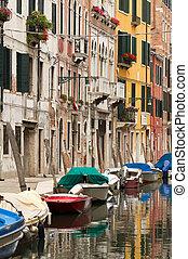 Typical Venice neighbourhood.