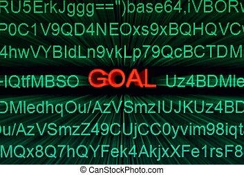 Web goal