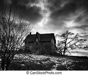 farmstead, abandonado