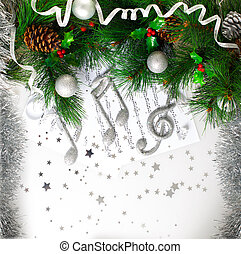Xmas musical symbol - Picture of Xmas musical symbol,...