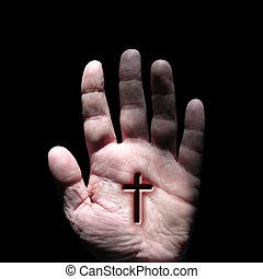 stigmata, cross, religion, faith, jesus, christianity,...