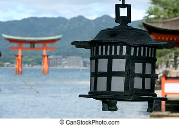 Miyajima Gate - Itsukushima Shrine, Miyajima, Japan