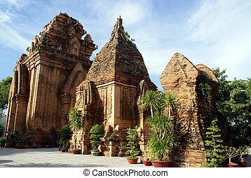 Po Nagar in Nha Trang - Po Nagar cham towerrs in Nha Trang,...