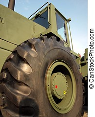 Large Military Off Road Vehicle