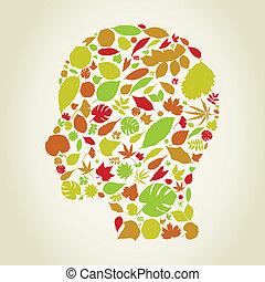 Leaf a head