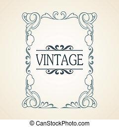 Vintage frame - Vector Vintage frame