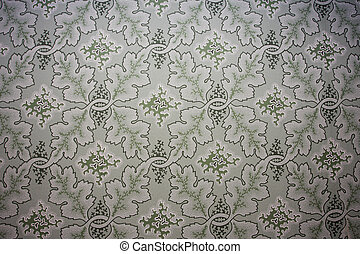 old fashioned wallpaper, very old