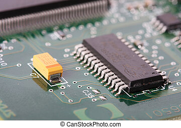 electronic board - close up of a electronic hardware,...