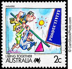 AUSTRALIA - CIRCA 1988 Industry - AUSTRALIA - CIRCA 1988: A...