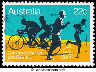 AUSTRALIA - CIRCA 1980 Community Welfare - AUSTRALIA - CIRCA...