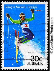 AUSTRALIA - CIRCA 1984 Freestyle - AUSTRALIA - CIRCA 1984: A...
