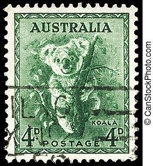 AUSTRALIA - CIRCA 1942 Koala - AUSTRALIA - CIRCA 1942: A...