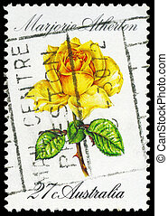 AUSTRALIA - CIRCA 1982 Marjorie Atherton - AUSTRALIA - CIRCA...