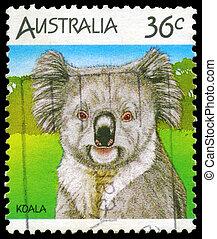 AUSTRALIA - CIRCA 1986 Koala - AUSTRALIA - CIRCA 1986: A...