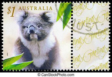 AUSTRALIA - CIRCA 1999 Koala - AUSTRALIA - CIRCA 1999: A...