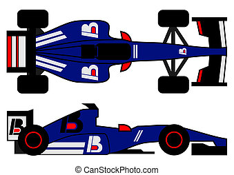 Formula car - Creative design of formula car