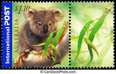 AUSTRALIA - CIRCA 2002 Koala - AUSTRALIA - CIRCA 2002: A...