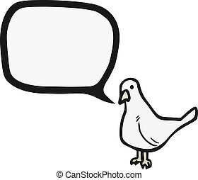 Carrier pigeon - Creative desing of carrier pigeon