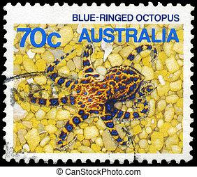 AUSTRALIA - CIRCA 1984 Octopus - AUSTRALIA - CIRCA 1984: A...